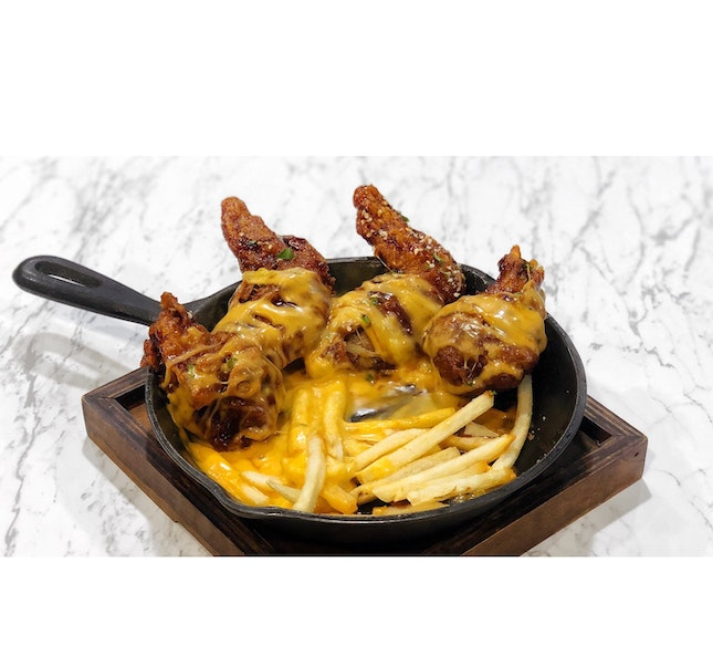 | 🍗 Cheesy Fried Chicken Wings !...