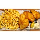 | 🍟 Chunks of Golden Fish & Chips 。...