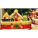 | 🎂 Cute Santa Claus House Cake !...