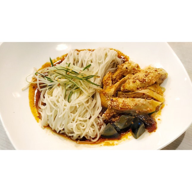 · 🍝 Chicken La Mian w Szechuan Kick。...