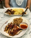 Soya Sauce/Char Siew Rice How can you not order Hawker Chan when you're at 18 Tai Seng.