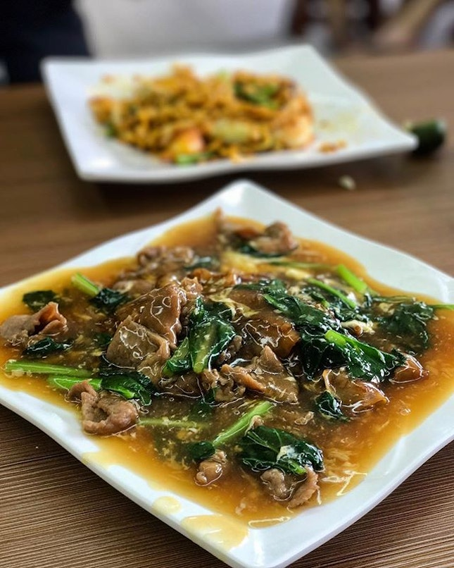 Beef Hor Fun Have never had much craving for Hor Fun in my adulthood cause maybe I had too much when I was growing up.