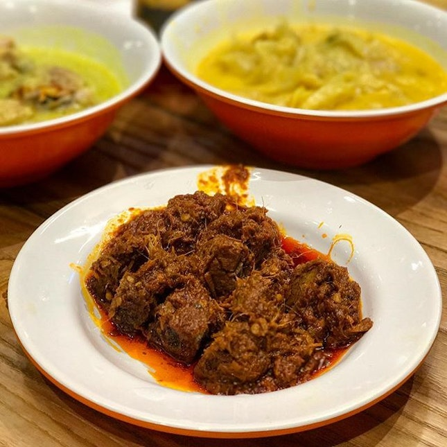 Beef Rendang  Whenever I get a chance to try Nasi Padang...