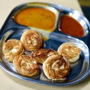 Coin Prata Besides the conventional prata, coin prata is available here and they are good!