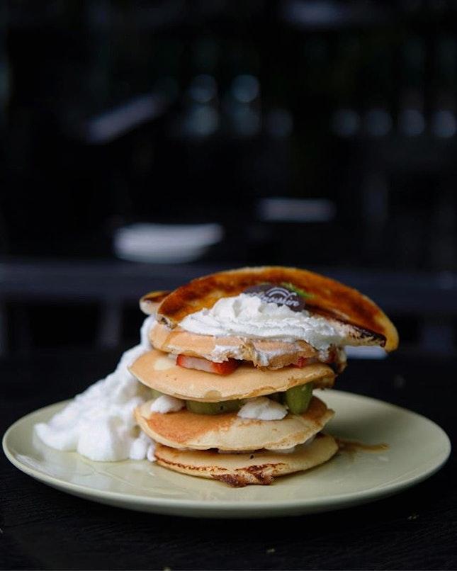 Fruity Pancake Stack Wow!
