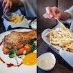 Kurobuta Pork Chop & Truffle Fries