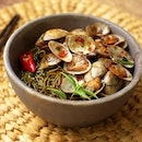 Signature Jade noodle With LaLa Flower Clam