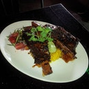 Iga Bakar (SGD$36.00) - Indonesian-style beef ribs glazed in sweet and spicy soy sauce; served with fragrant basmati rice.