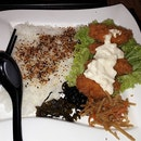 Deep-fried Breaded Oysters with Japanese Rice.....