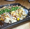 Tonpei Yaki (SGD $17.00) is a classic Osaka dish, a must-have appetizer.