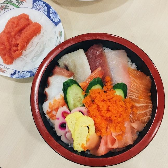 Back At Fish Mart For Sashimi 🤤