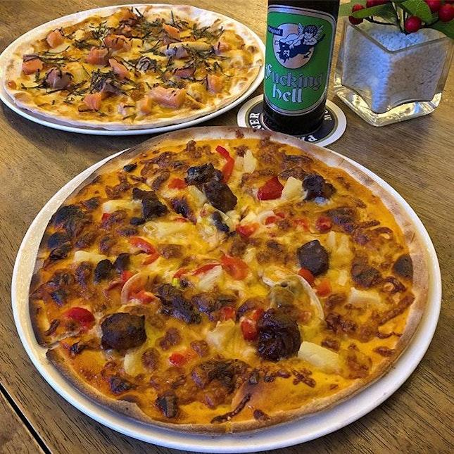 GLY Pizza & Sashimi Pizza