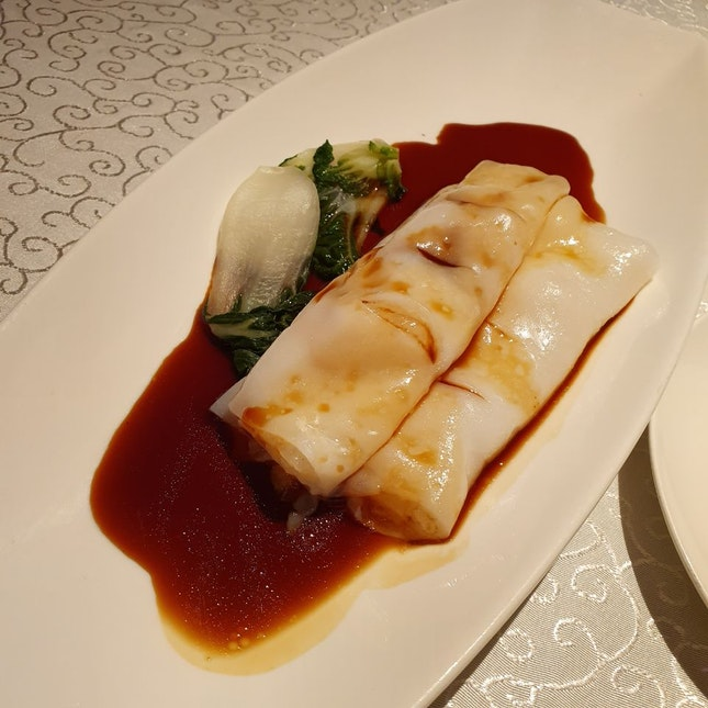 Homemade Steamed Rice Roll With Scallop $12.80