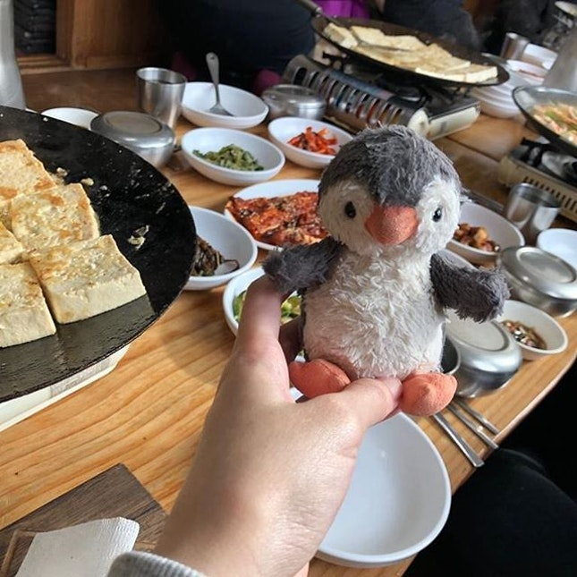 214-1 Guryongnyeong-ro Hwachon-myeon Hongcheon-gun Gangwon-do Tofu Restaurant 🥰 Full of surprises, we thought we are eating vegetarian food, but ended up eating excellent food.