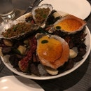 Rasam Granita & Mango Chili Lassi Oyster