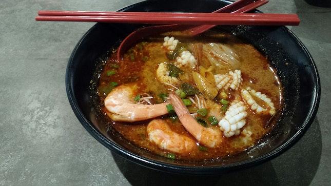 Tom Yum Noodle(add On 2$, 9.8set W Choice Of Drink)