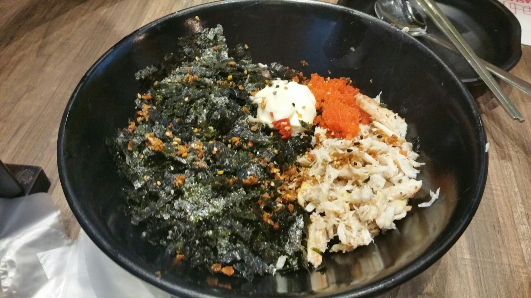 Crabmeat And Roe Rice Balls(10.8++)