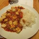 Mapo Tofu W Rice 18++