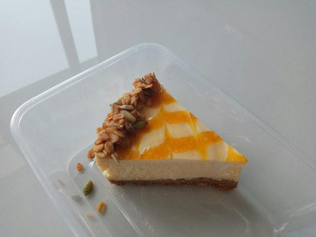 Citronella Passionfruit Cheesecake 7.5+