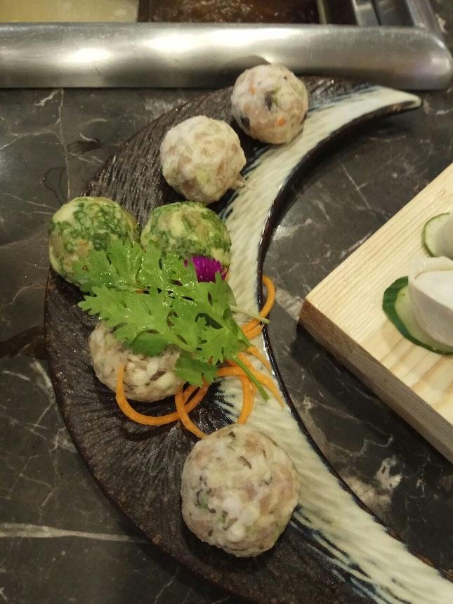 Three Kinds Of Meatballs