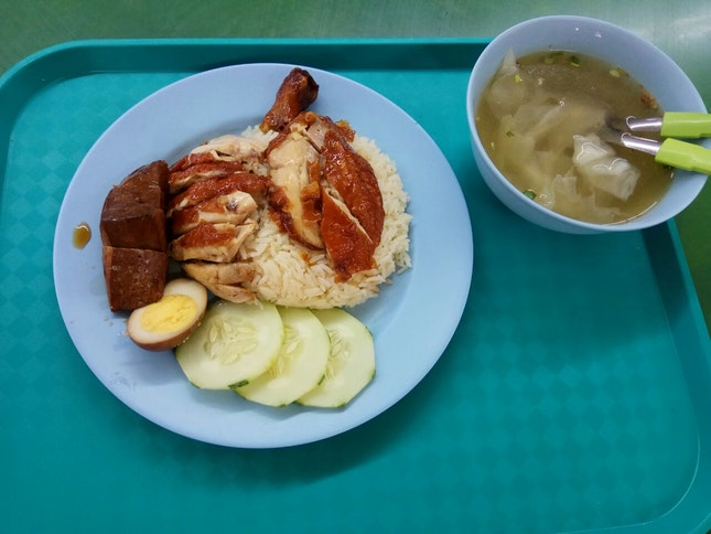 Special Meal 4.6nett+Change To Drumstick +1 And Add Chicken +2