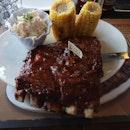 Hickory BBQ half slab 27.9++