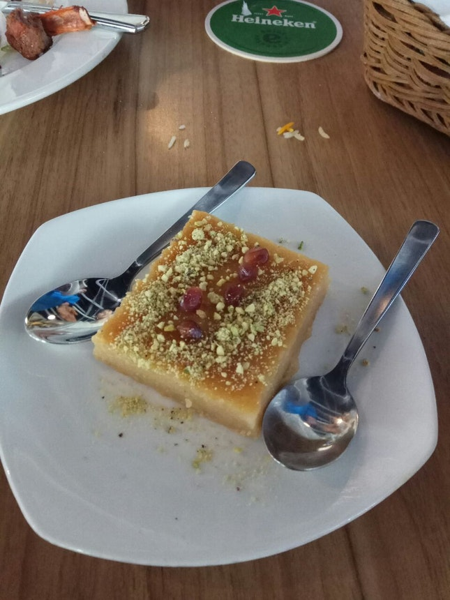 Namoora(Semolina Cake) 6+