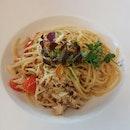 Crabmeat Aglio Olio 26++