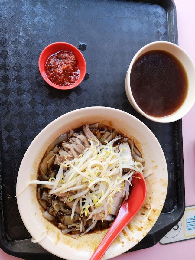 3.5duck Noodles +1$Pork Belly