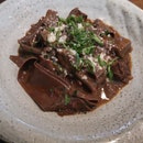 Chocolate Pappardelle 24+svc