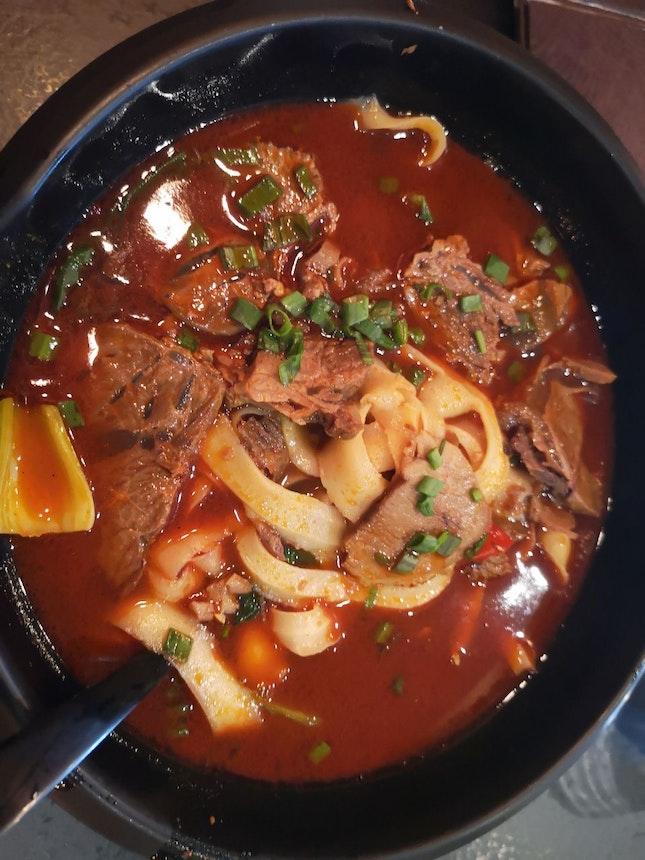 Secret Mala Beef Noodles 12.9++ Knife Shaved Noodles Upgrade +1++