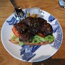 Char Siew Burger 15.4++