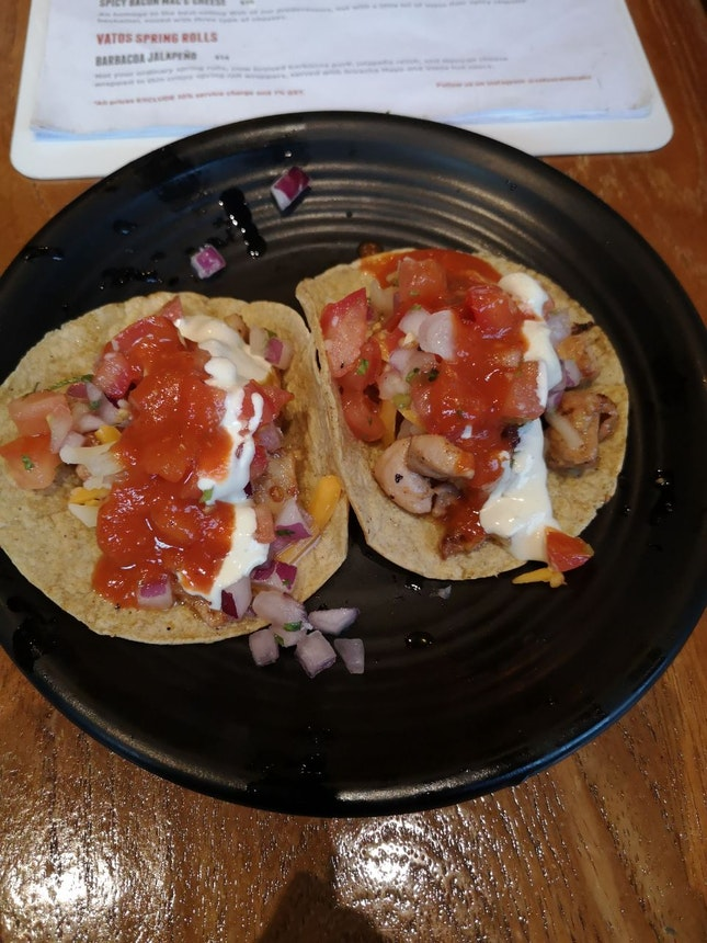 Grilled Ckn Taco 12++ For 2pcs