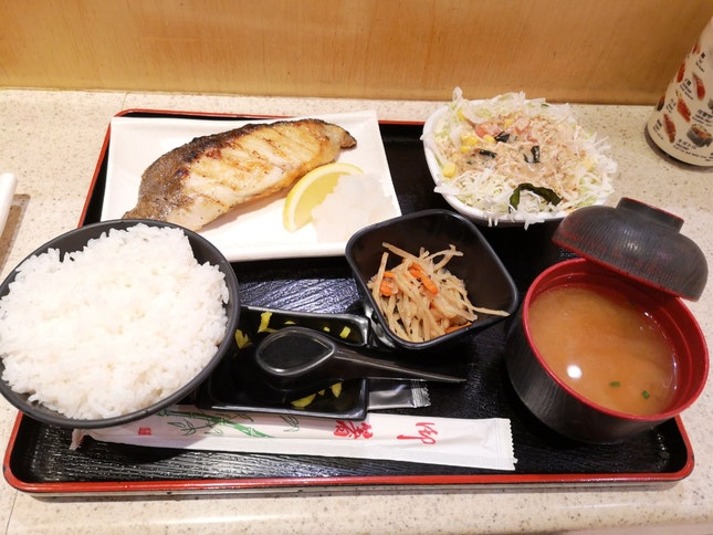 Gindara Shioyaki Set 17.9nett