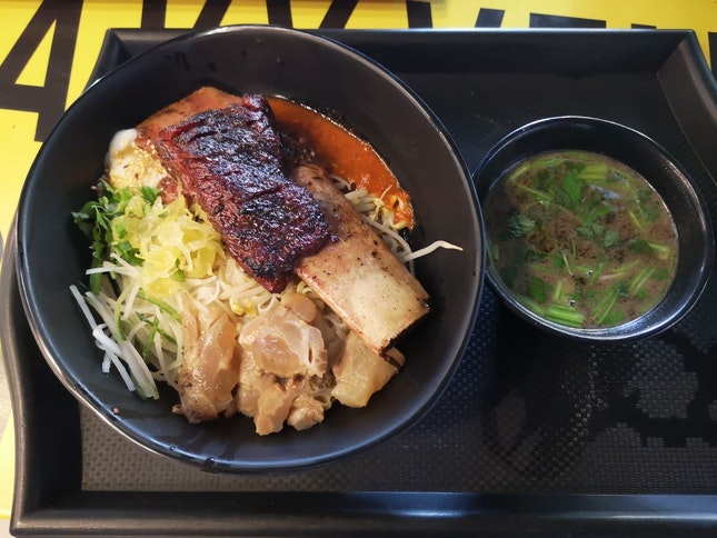 Beef Short Ribs Kway Teow 300g Portion 12.9nett Add On Tendon+1nett