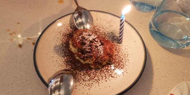 Tiramisu(Compliments Of The Chef For Bday Boy)