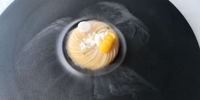 Mango Sticky Rice Minus Rice (Chinese Diaspora Menu 160++)