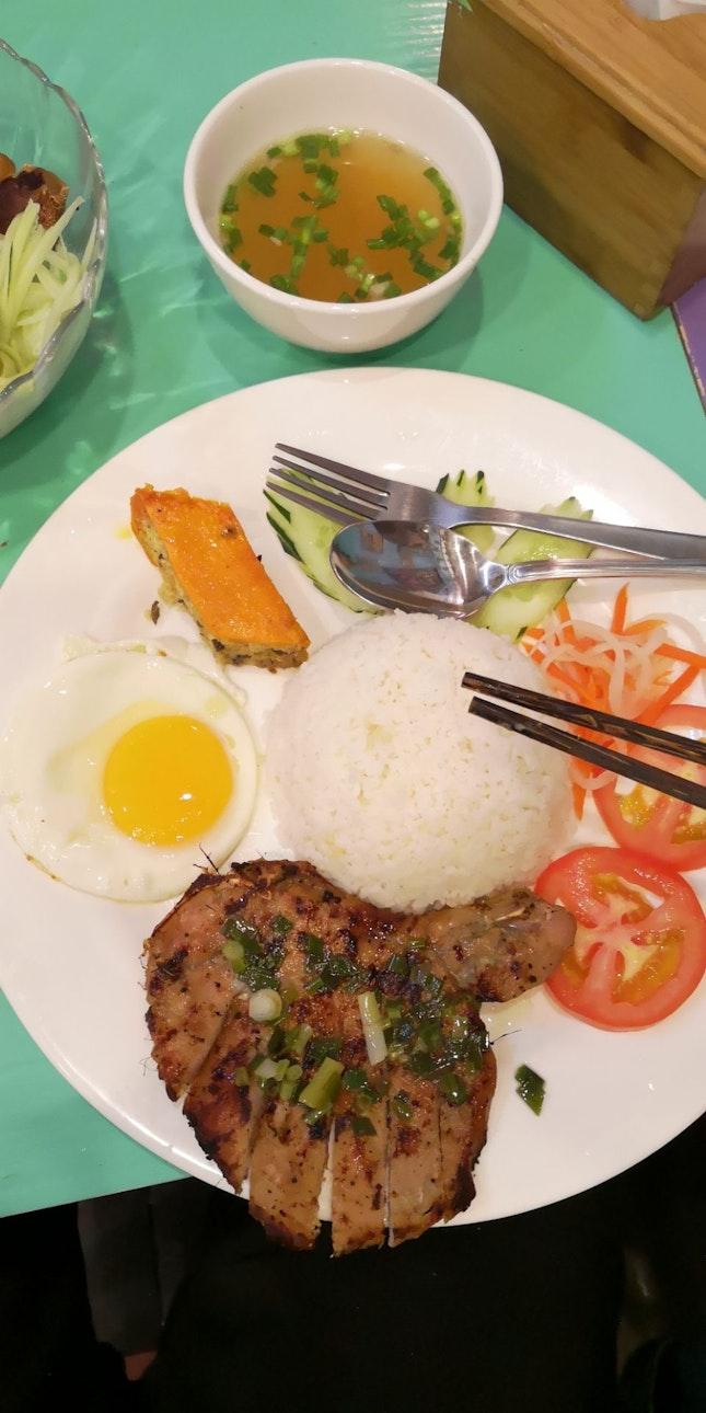 Pork Chop Rice W Sunny Side Up 11nett