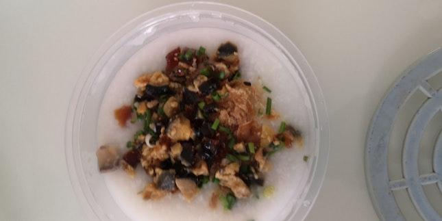 Century Egg Porridge 20%off foodpanda Self-pickup