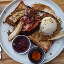 Banana Foster French Toast 16+Gst
