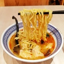 Another day during my sick time, I was thinking of having HK-style wanton noodles in soup.
