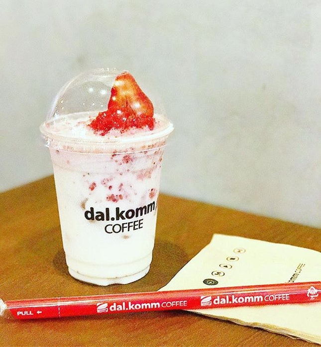🍓🍼 Because I couldn't make it for the tasting, I made it up by visiting Dal.Komm myself.