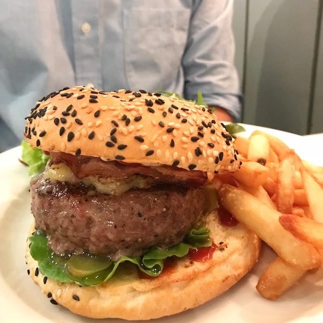 BBQ Wagyu Burger