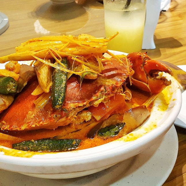 Curry Crab!
