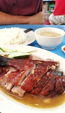 HERBAL ROASTED DUCK IN A HAWKER! SAY YAY!