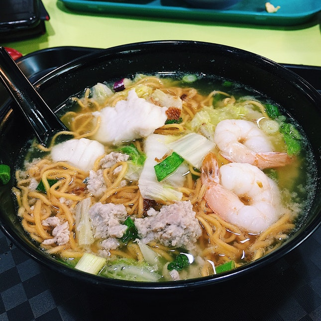 Assorted Soup with Ee Mee