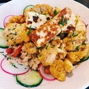 Roasted Cauliflower and Quinoa