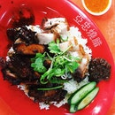 Char Siew and Roasted Pork Rice