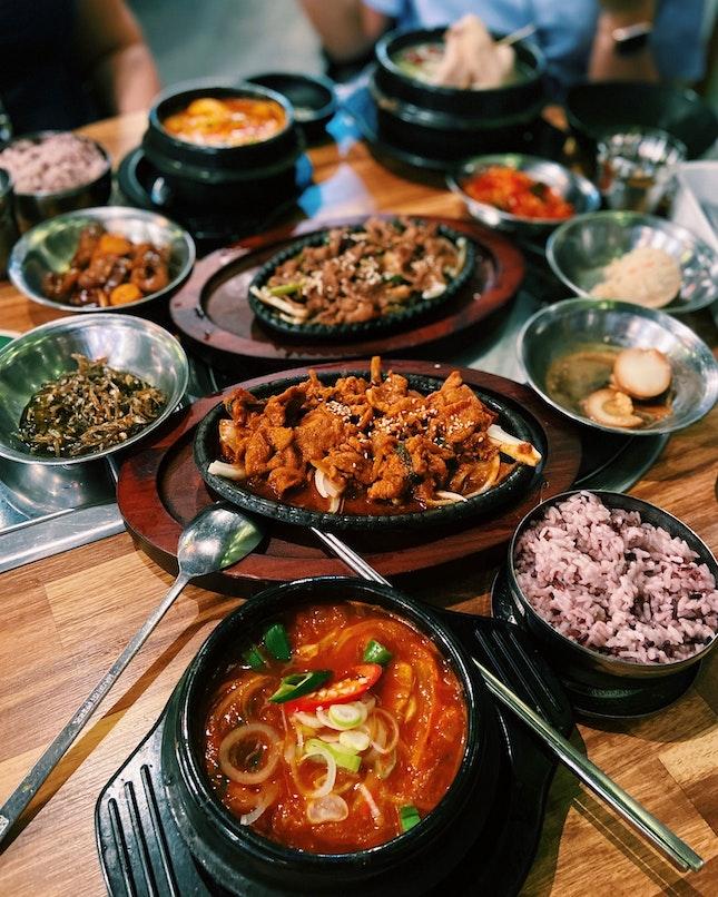 Kimchi Stew & Pork Bulgogi