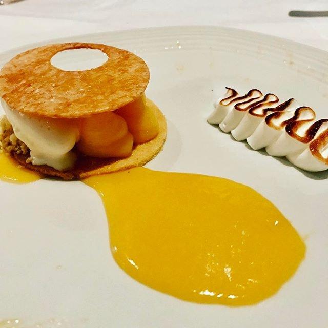 Lemon Tart - lemon curd , meringue, cream cheese gelato #28wilkie #italianfood #burpple #torcianowinery #italianrestaurantsingapore